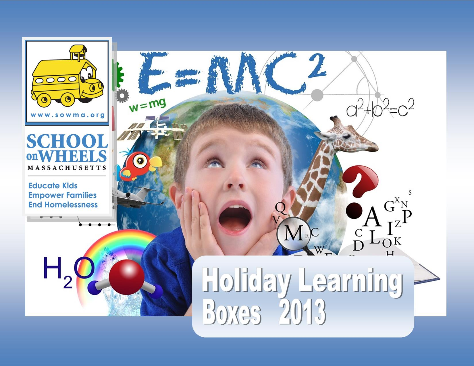 holiday learning boxes - school on wheels of massachusetts