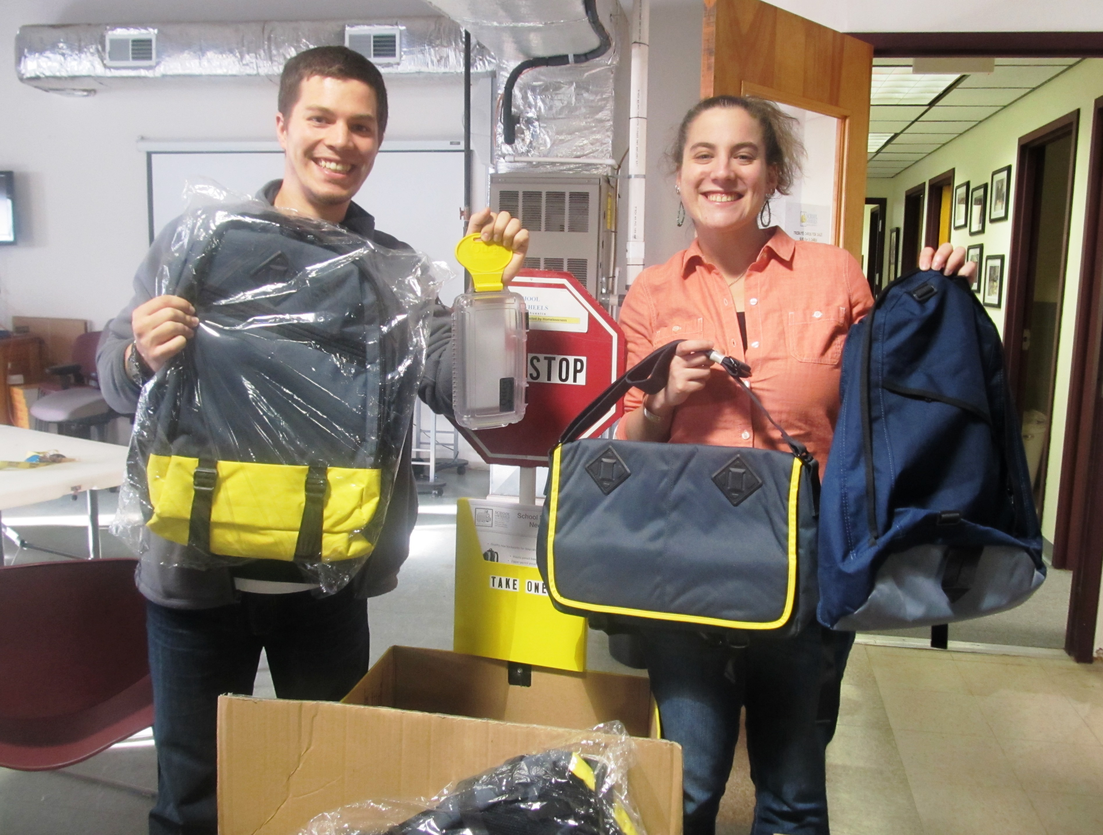 otterbox backpack donation