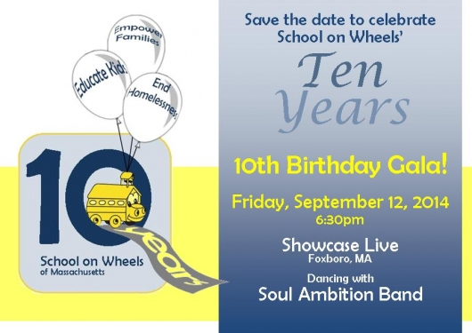 Save the Date to Celebrate!