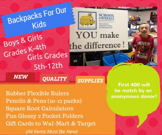 Backpacks for Our Kids