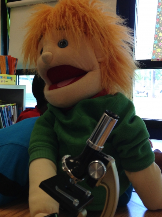 Puppets Teach About Germs